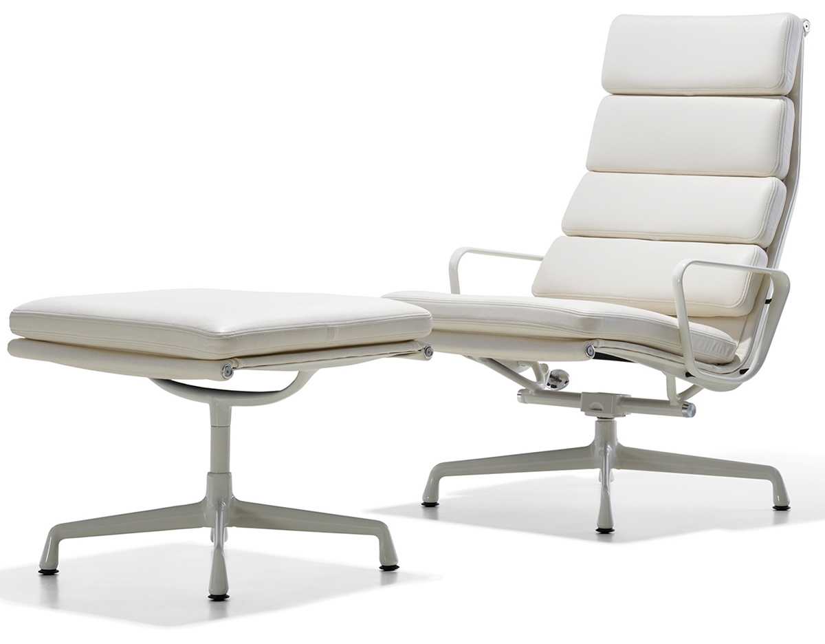 Eames Soft Pad Eames® Soft Pad Group Lounge Chair & Ottoman - Hivemodern.com