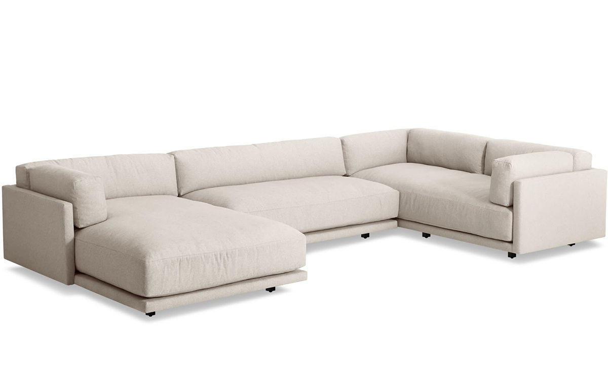 L Sofa Sunday L Sectional Sofa With Chaise