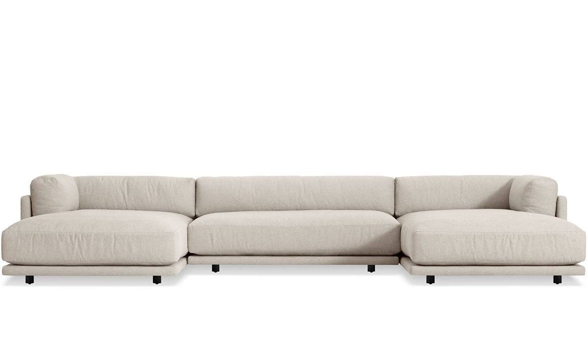 U Sofa Sunday U Shaped Sectional Sofa