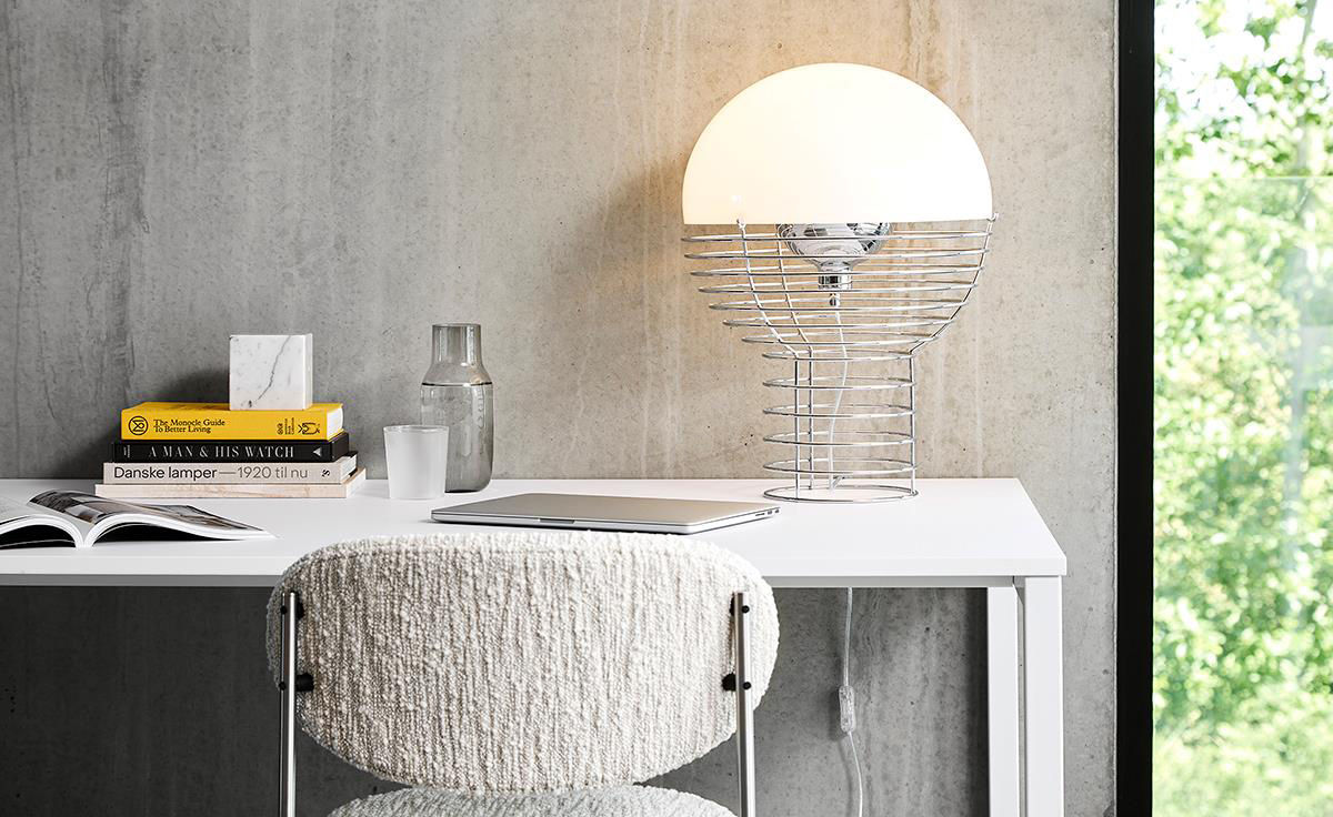 Panton Wire Table Lamp Hivemodern Com