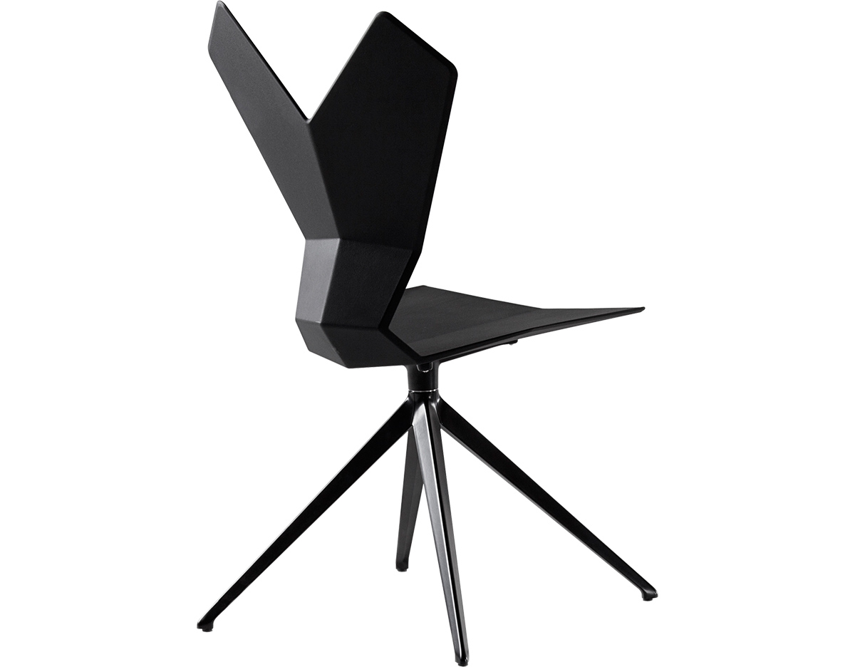 Y Chair With Swivel Base Hivemodern Com - Y Chair