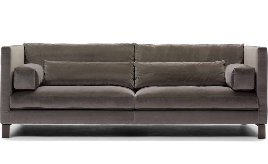 Vallentuna Bank 5 Seat Sofa Contemporary Sofa Fabric Commercial 5 Person