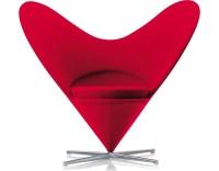 Verner Panton Heart Chair - hivemodern.com