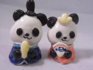 パンダ 陶器