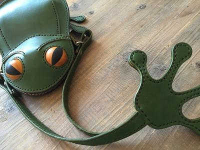 カエルの鞄