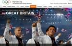 イギリスチームの紹介(http://www.olympic.org/より)