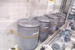 学校内での汚染汚泥の保管状況(横浜市の資料より)