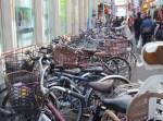 西口バスターミナル近くにある「東急日吉駅駐輪場」は日吉最大の駐輪場