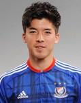 横浜F・マリノスの富樫敬真(けいまん)選手(F・マリノスホームページより)