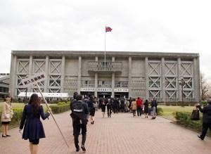 毎年入学式や卒業式の場となってきた日吉記念館