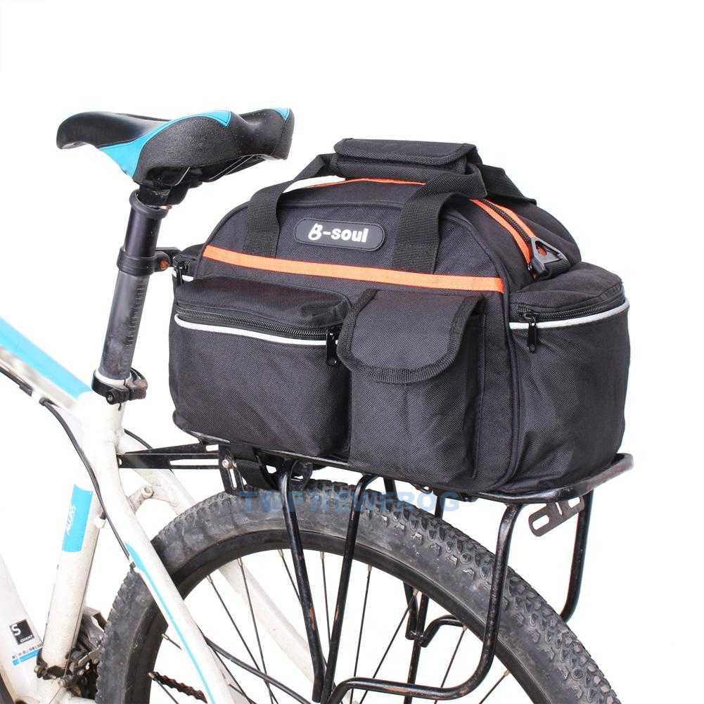 Cycling Bicycle Bike Storage Pannier Saddle Rack Rear Seat
