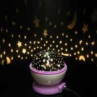 Rotation Night Projector Light Lamp Star Sky Fairy ...