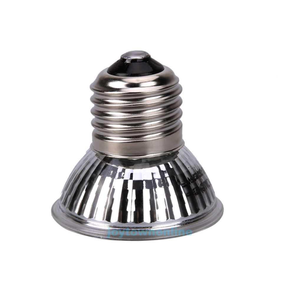 25 50 75w Full Spectrum Uva Uvb Heat Emitter Lamp Bulb