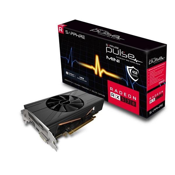 Sapphire RX570 Pulse  4GB ITX (Mini) Hynix and Elpida RAM - memshift 1500