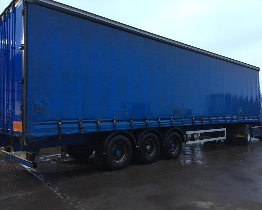 Trailer Curtains Sale Or Hire Of 2010 Montracon 4 475m Curtainsider