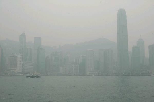 中國評論新聞:香港空氣污染嚴重 登BBC十大新聞