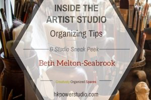 Inside the Artist Studio::Beth Melton-Seabrook Part II