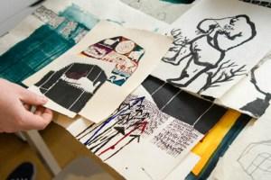 Case Jernigan's Organized Art Space-Part I