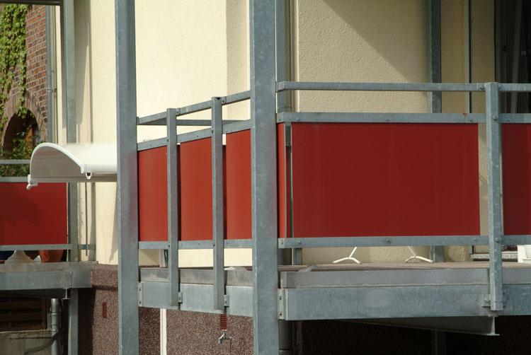 balkonverkleidung kunststoff werzalit