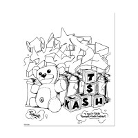 Graffiti Coloring Book 3 | Highlights