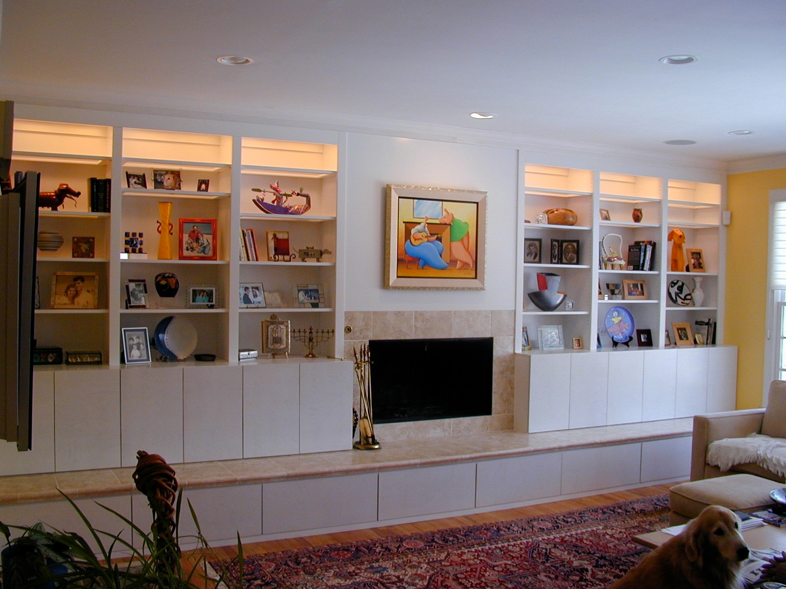 Fireplace Wall Units Built In Wall Units Hlwood