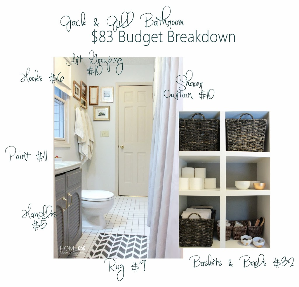 Jack Jill Bathroom Reveal Home Made By Carmona