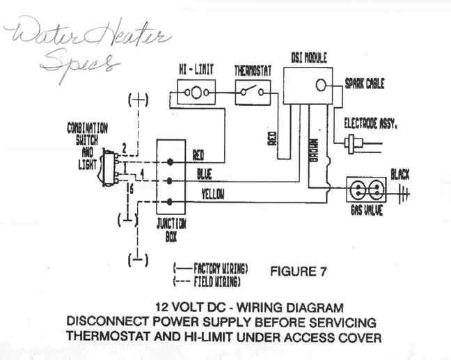 Wiring Diagram Sw10de Suburban Water Heater Powerkingco