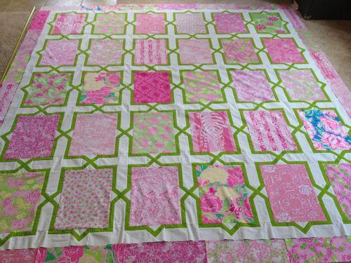 Medium Of Lilly Pulitzer Fabric