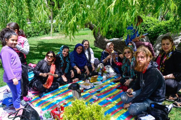 A day-picnic together with the Lady Committee of Park Abshar.