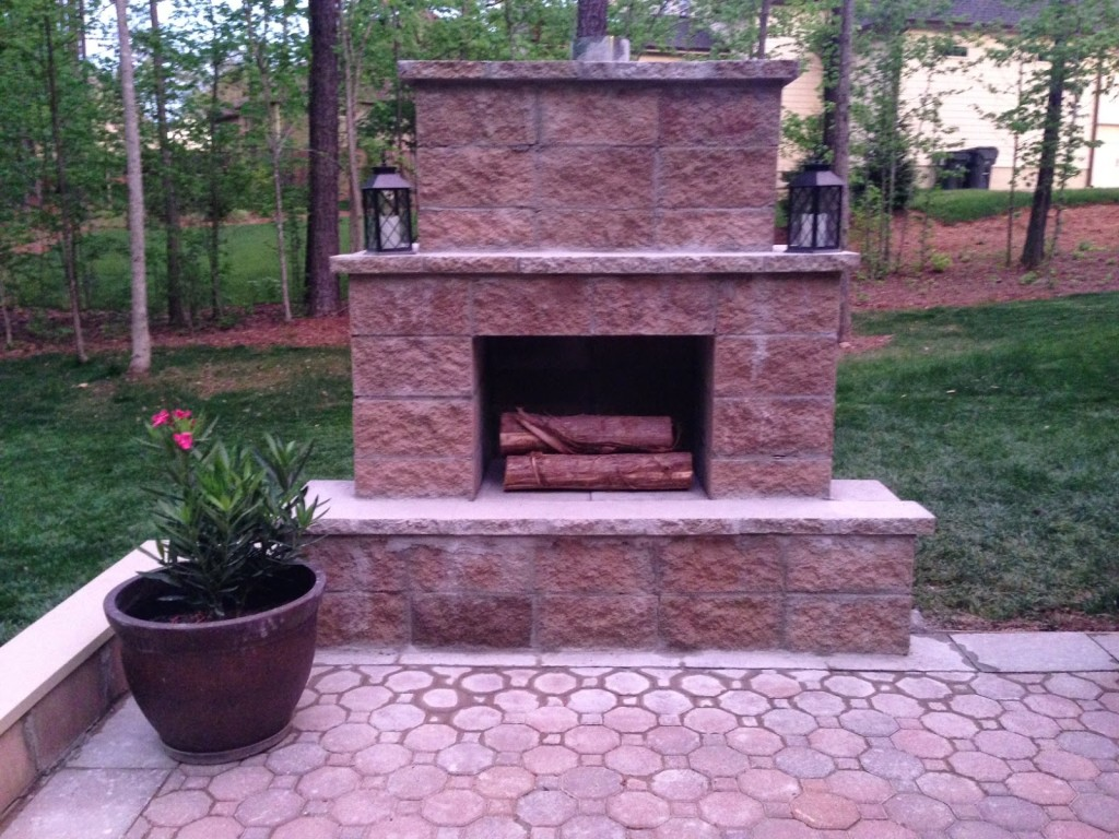 Fireplace And Patio 12 Outdoor Fireplace Plans Add Warmth And Ambience To