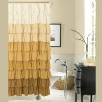 15 Elegant Bathroom Shower Curtain Ideas  Home And ...