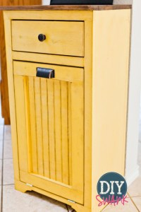 12 Tilt Out Trash Cabinets To Stash Unsightly Garbage Can ...