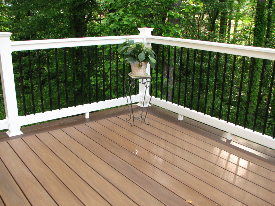 Front Porch Railing Deck Railing Gallery - Hnh Deck And Porch, Llc 443-324-5217