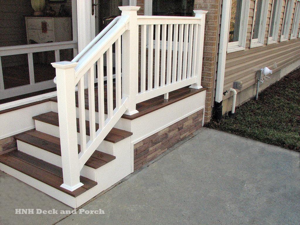 Deck Steps Gallery Hnh Deck And Porch Llc 443 324 5217