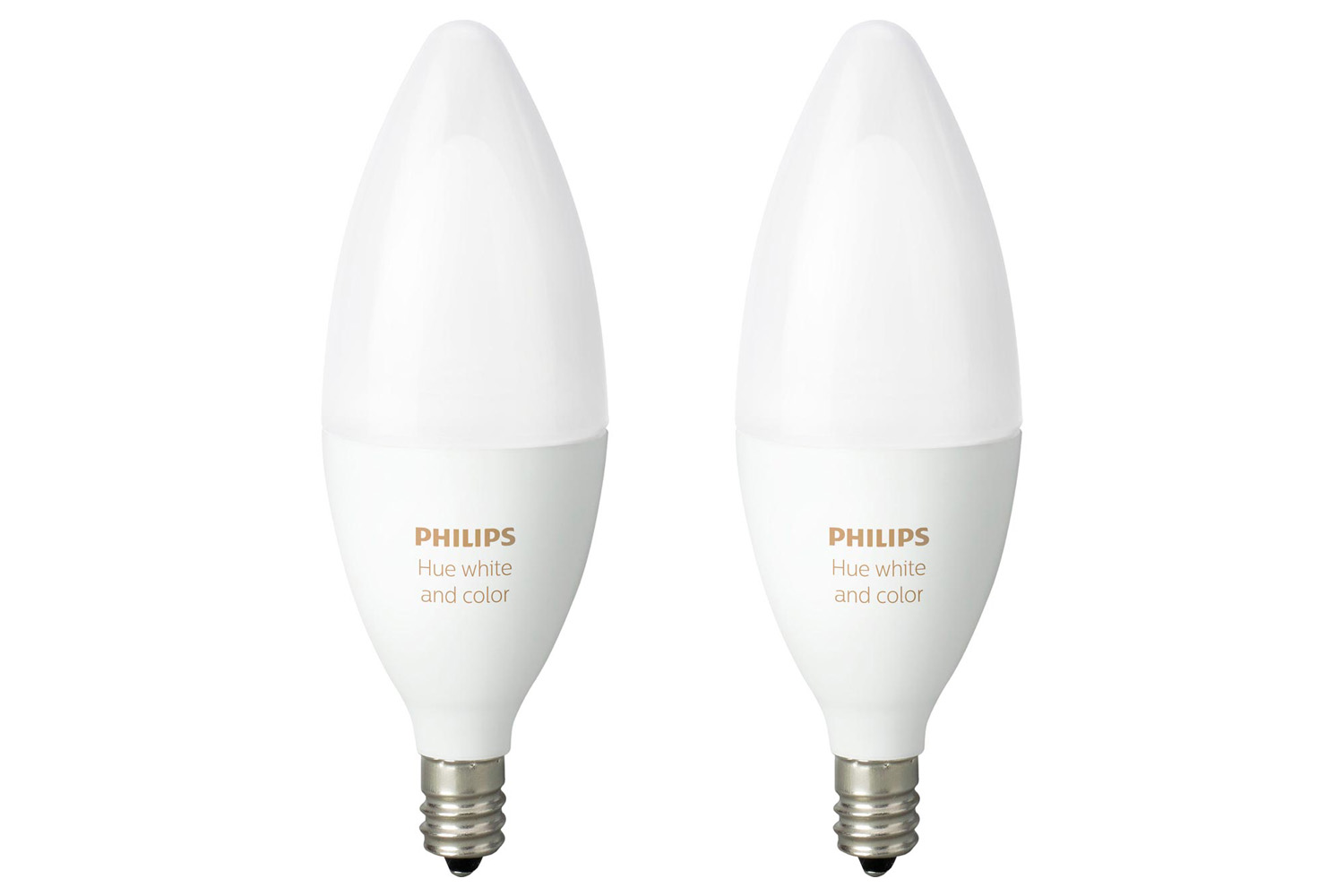 Philips Hue E14 Philips Hue White & Colour Ambiance E14 Twin Pack | Ireland