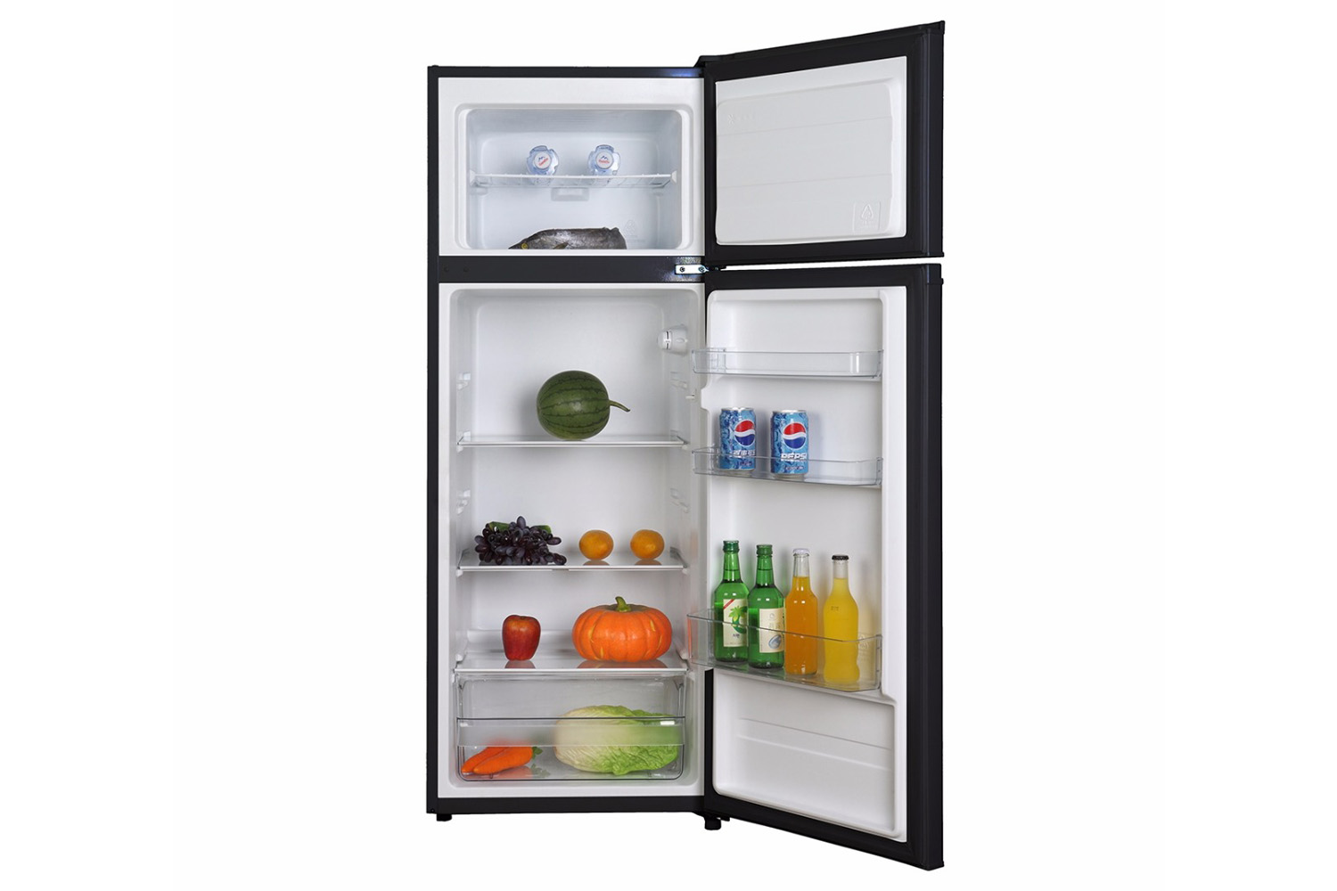 Fridge Freezer Belling Freestanding Fridge Freezer Bff207bk