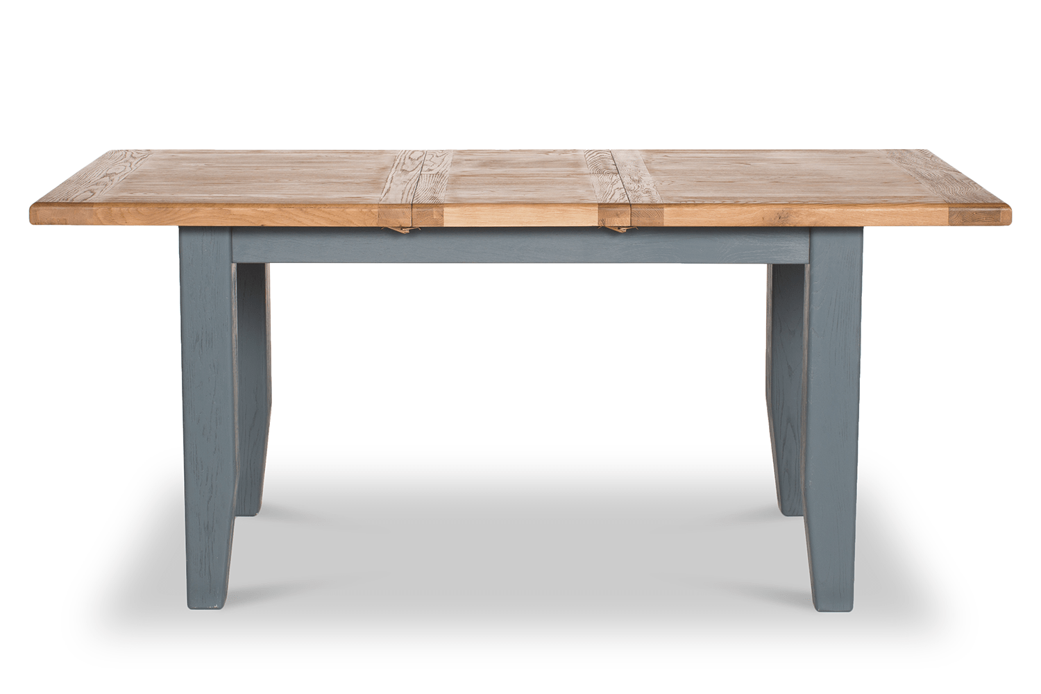 Table 140 Tisbury Extended Dining Table Grey 140cm