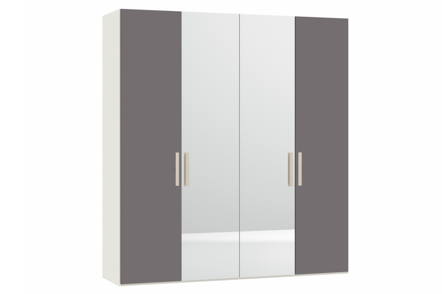 Wardrobes For Sale Sydney Sydney Wardrobe 4 Door Grey Glass And Mirror Ireland