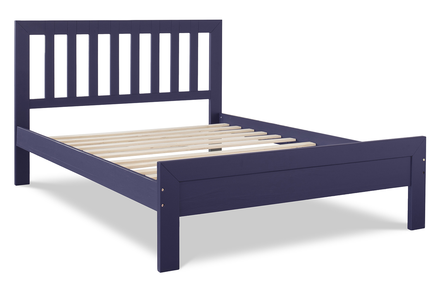 Archie Small Double 4ft Bedframe Midnight Blue Ireland