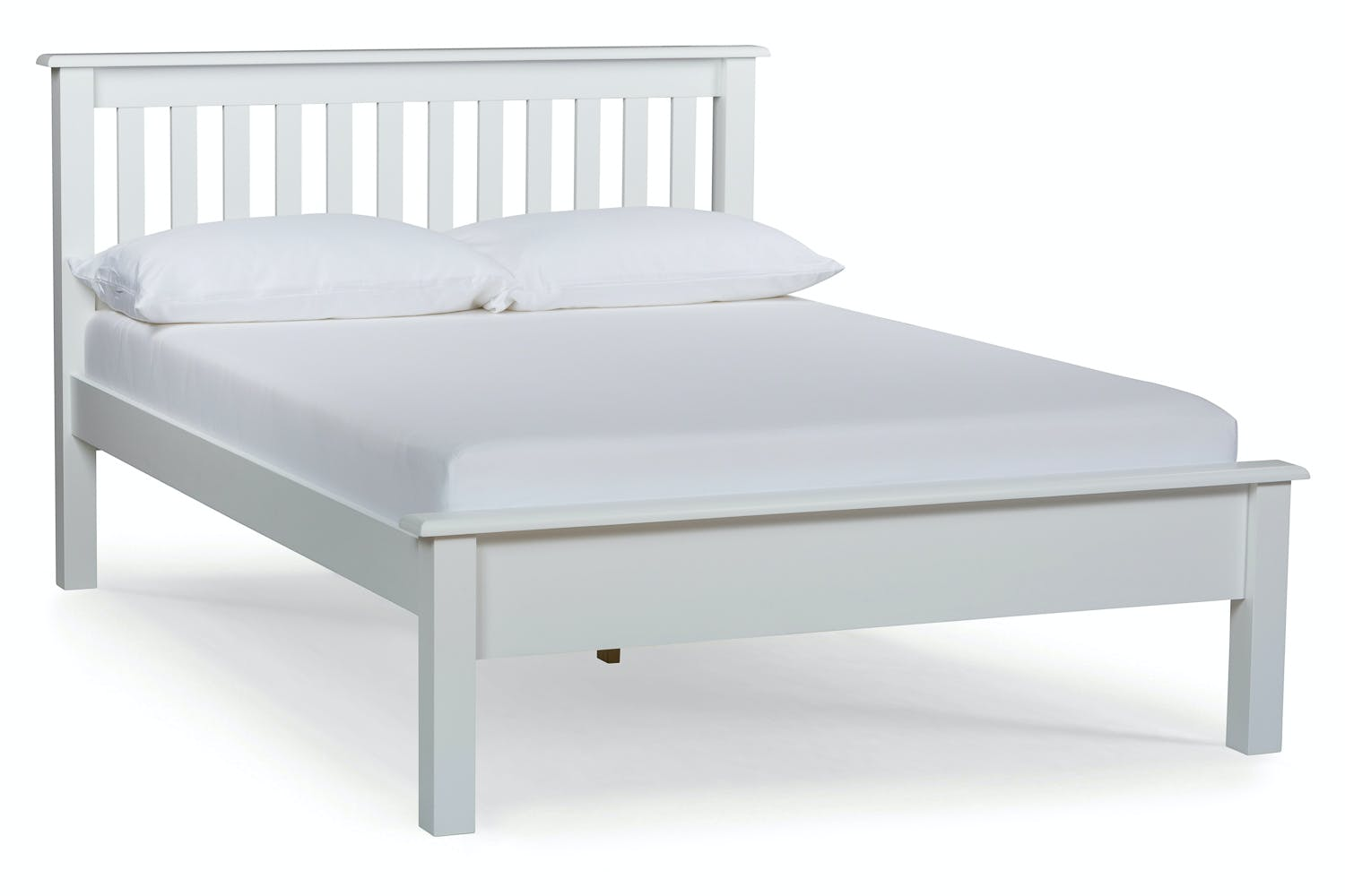 White Double Bed With Mattress Shaker Small Double Bed Frame 4ft White Ireland