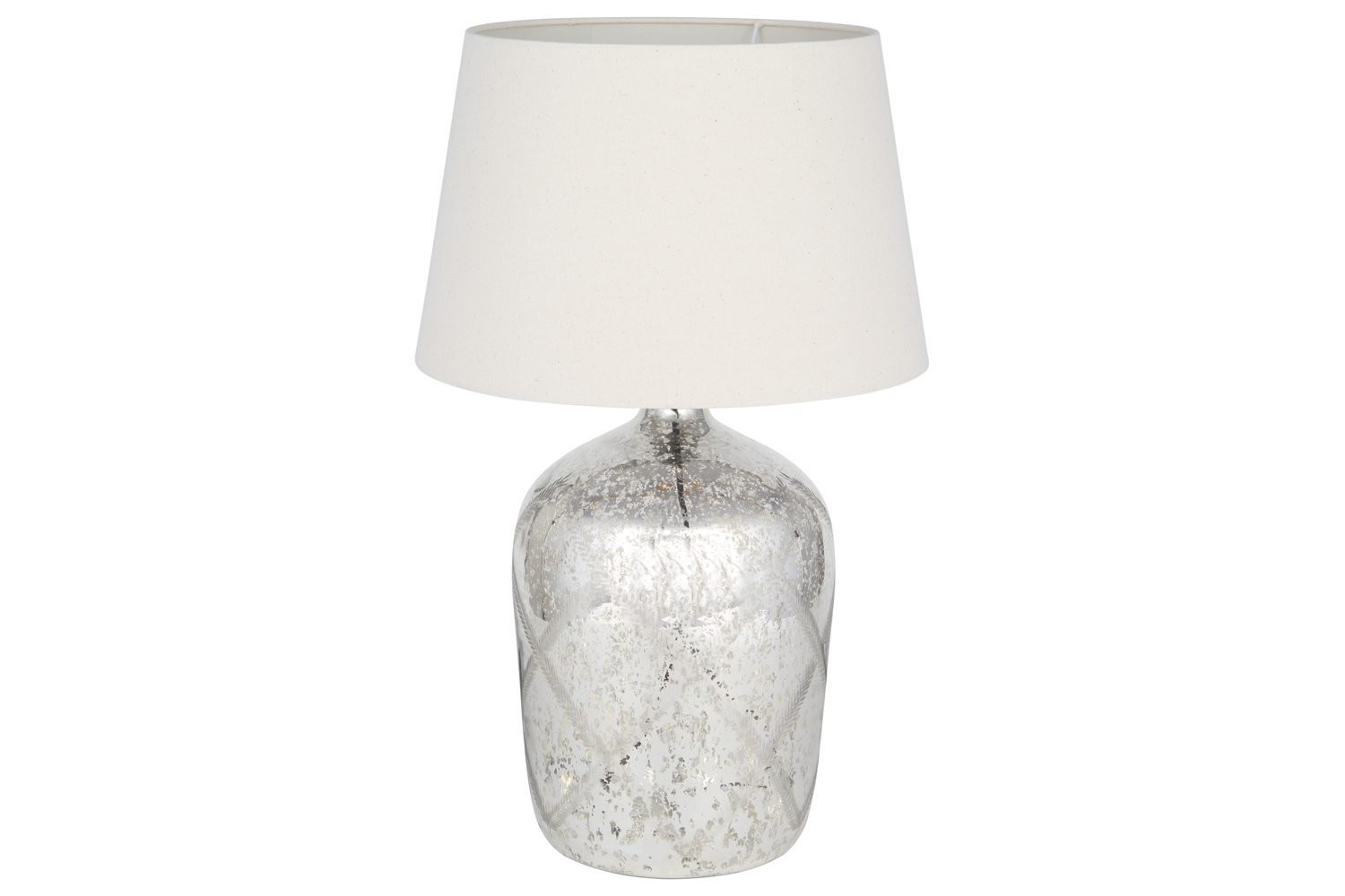 Glass Lamp Tables Ireland Mercury Glass Table Lamp With Pattern Ireland