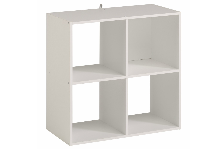 Kubikub 4 Cube Square Storage White Ireland