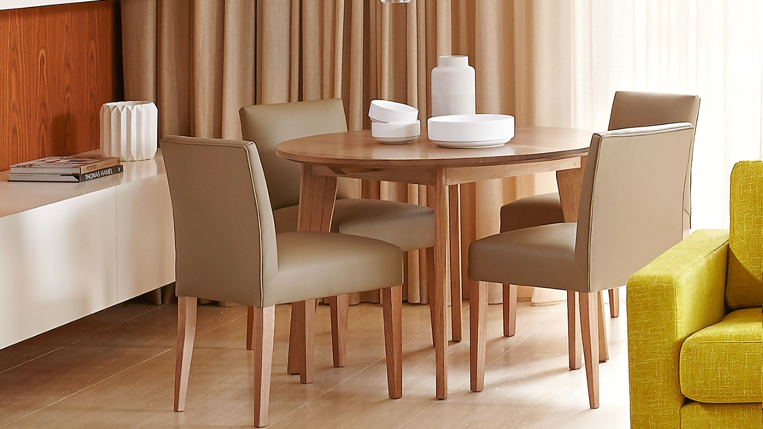 Dining Suite Adelaide Elvie Round Dining Table Domayne
