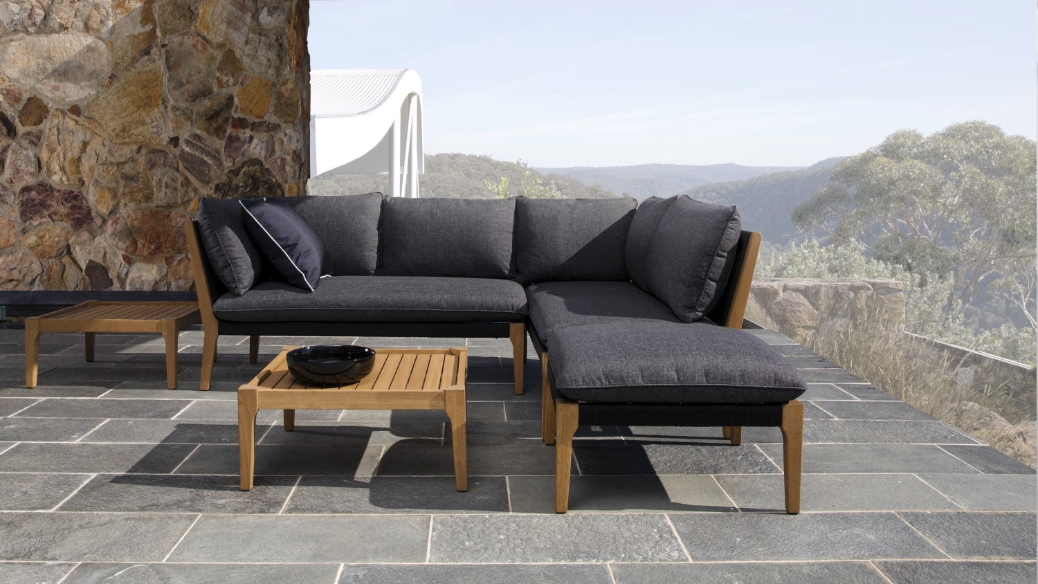 Outdoor Lounge Sofa Koa Outdoor Modular Sofa Domayne
