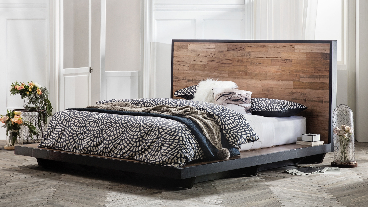Queen Bed Frame Adelaide Abode Bed Frame Domayne