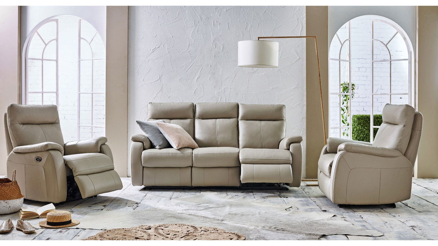 Sofa Dutch Dutch Leather Sofa With Twin Electric Reclining Actions Domayne