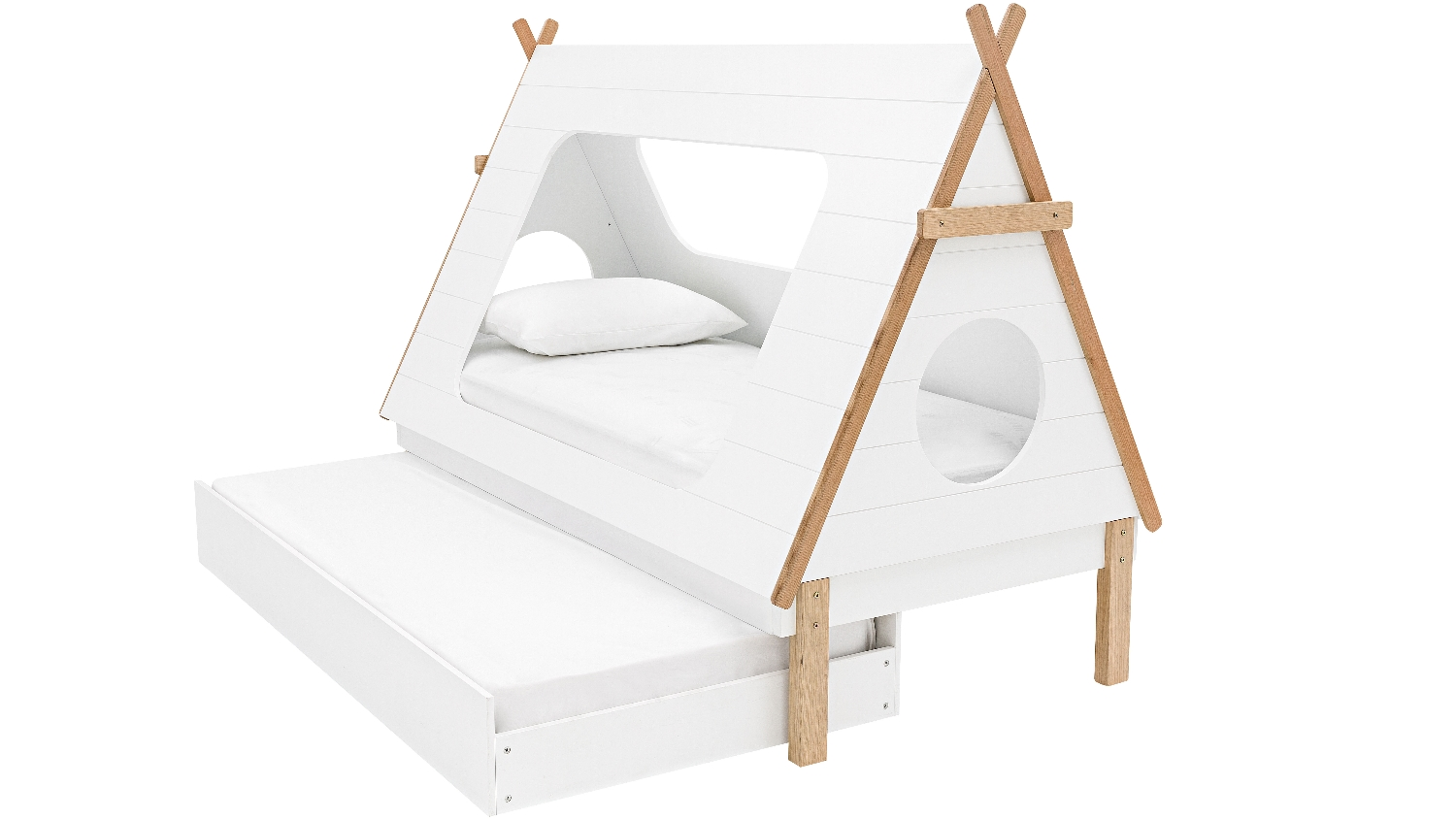 Kids Teepee Australia Tee Pee Kids Trundle Bed Domayne