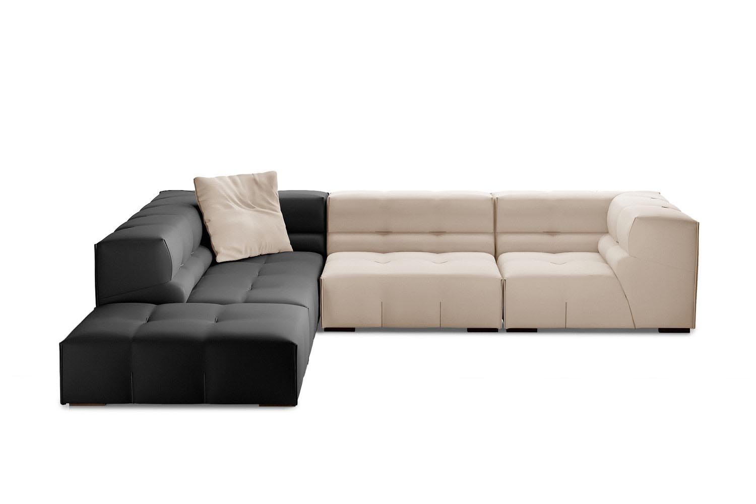 Sedia Urquiola B&amp Tufty Too Sofa By Patricia Urquiola For B B Italia Space Furniture