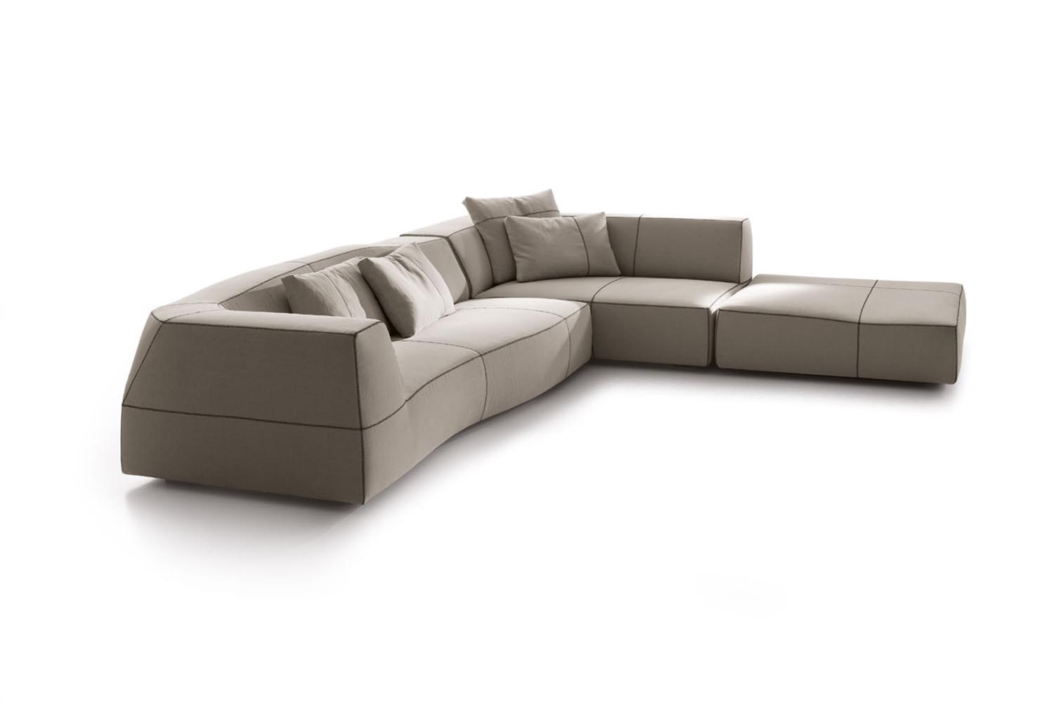 Maxalto Sofa Rund Bend Sofa By Patricia Urquiola For B Andb Italia Space
