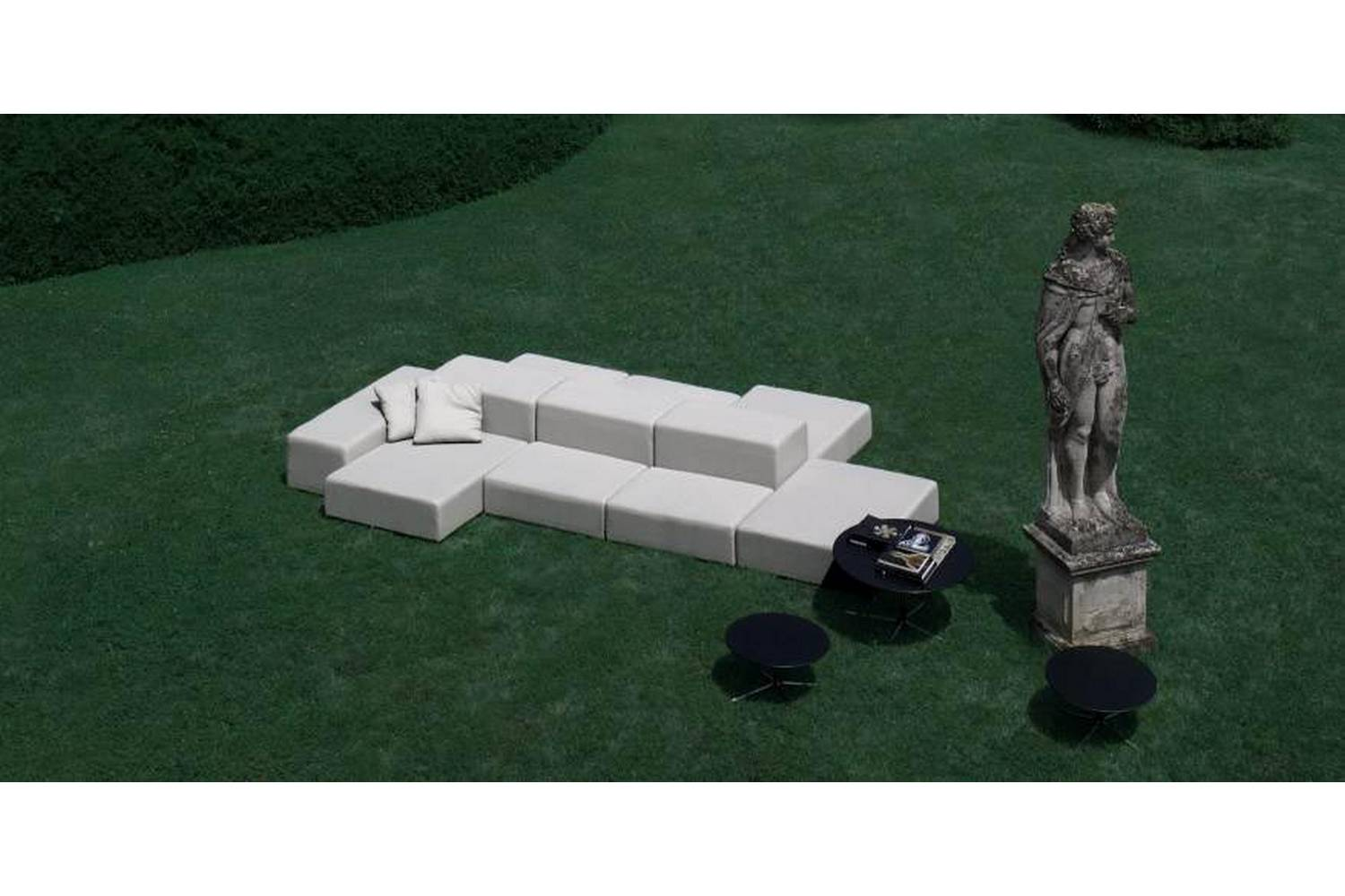 Living Divani The Wall Sofa Extra Wall Outdoor Sofa By Piero Lissoni For Living Divani Space